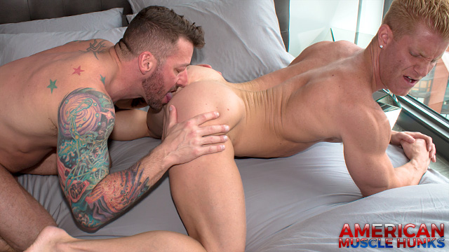 Hugh Hunter and Johnny V